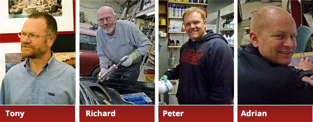 Members of the Autospray Team